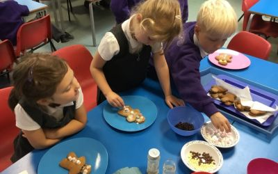 Year 1 Gingerbread People